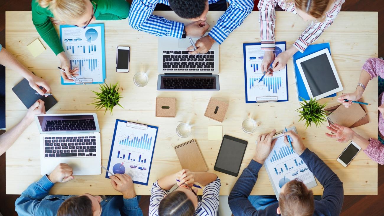 Trabajando en equipo con Secretariado Online